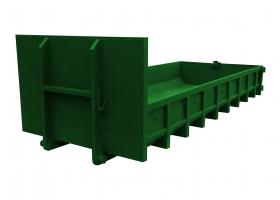контейнер для мусора 10 м3 низкий борт