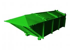 Контейнер для мусора 8 м3 Лодочка